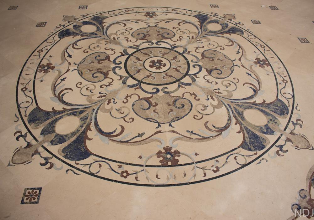 Mosaico en mármol