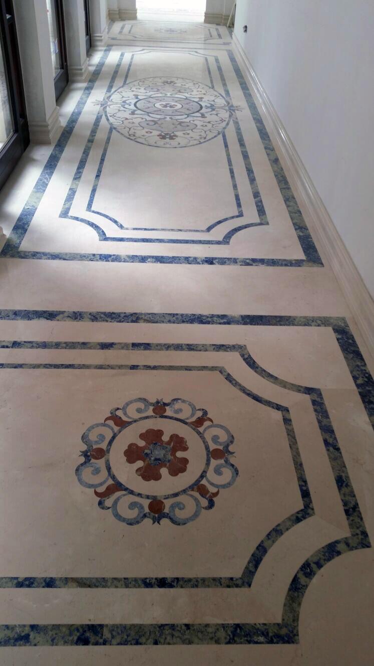 Alfombra mosaico