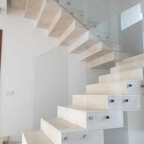 Instalación escalera Guadalmina